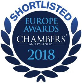 Chambers Europe Shortlisted