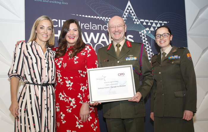 Irish Defence Forces Receive Highly Commended D&I Award