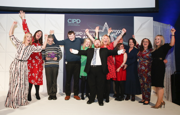 EY Winners of CIPD Ireland Diversity Inclusion Award