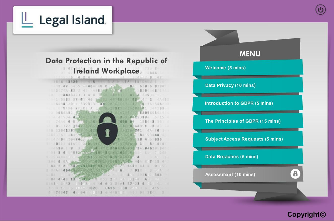 Data Protection in the ROI workplace