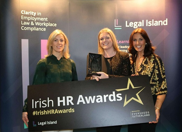 Best Leadership in HR-Winner Rosarii Mannion-Health Service Executive