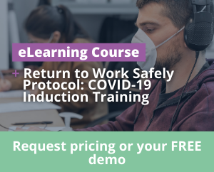 COVID-19 Induction eLearning Training Course